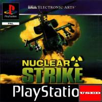 Nuclear Striker PSX USED  (Unofficial Case/No Back Cover)